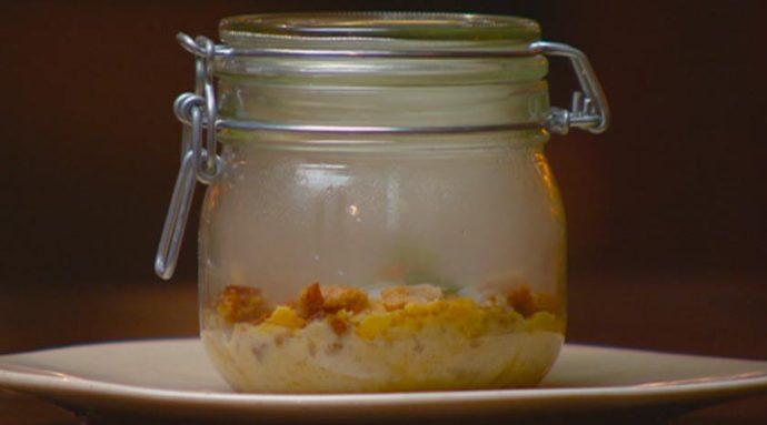 62C Egg and Mushroom Custard