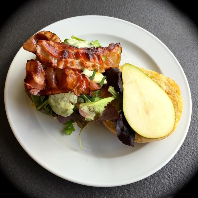 non veggie haloumi burger