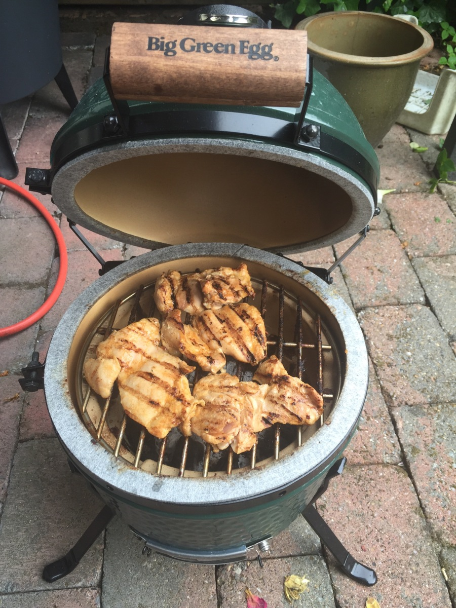 Chicken Peri Peri / Boerewors from the Big Green Egg