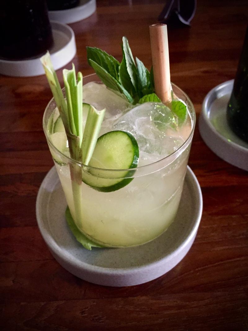 Cucumber & Lemongrass Mojito