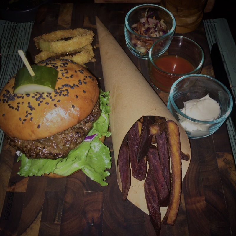Copper burger