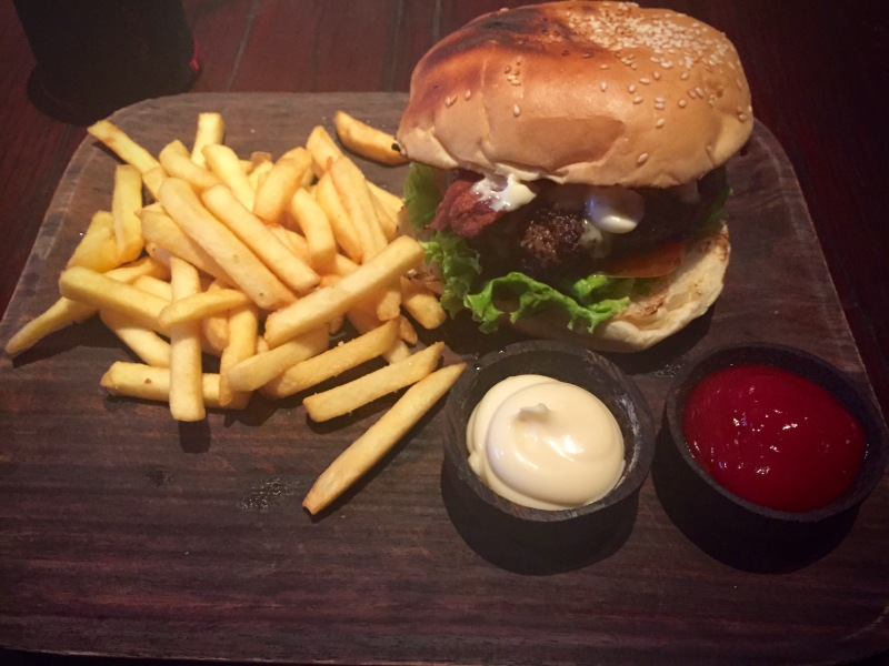 The Fire Station Burger