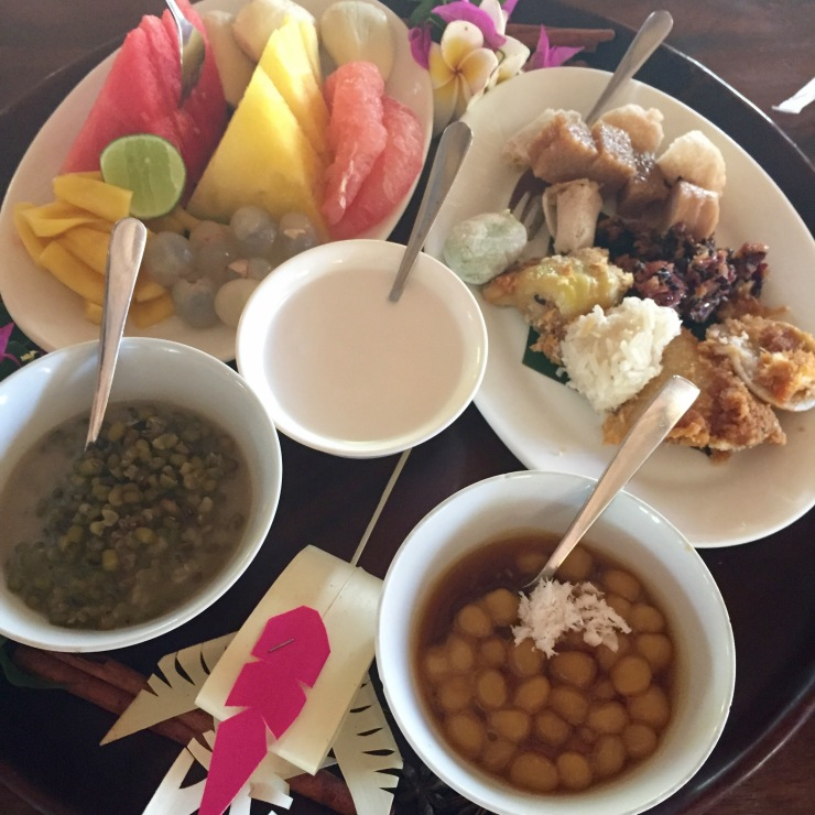 breakfast at bumbu bali