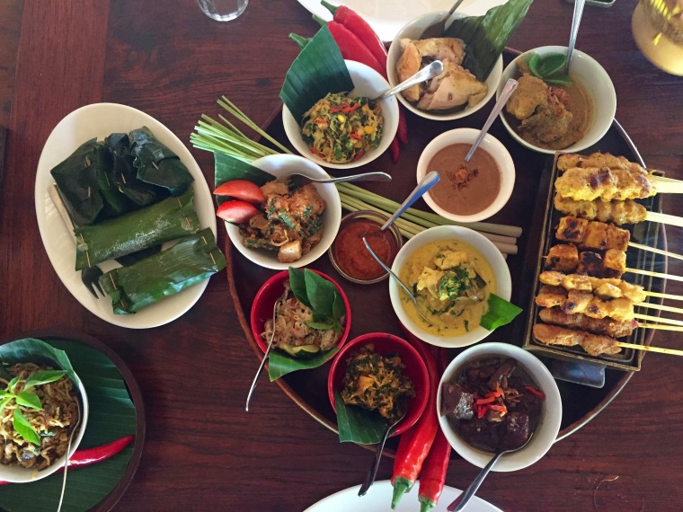 lunch at bumbu bali