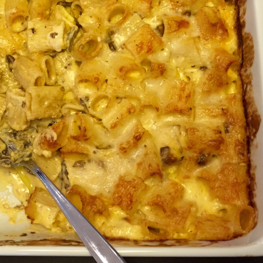 mac n cheese from oven