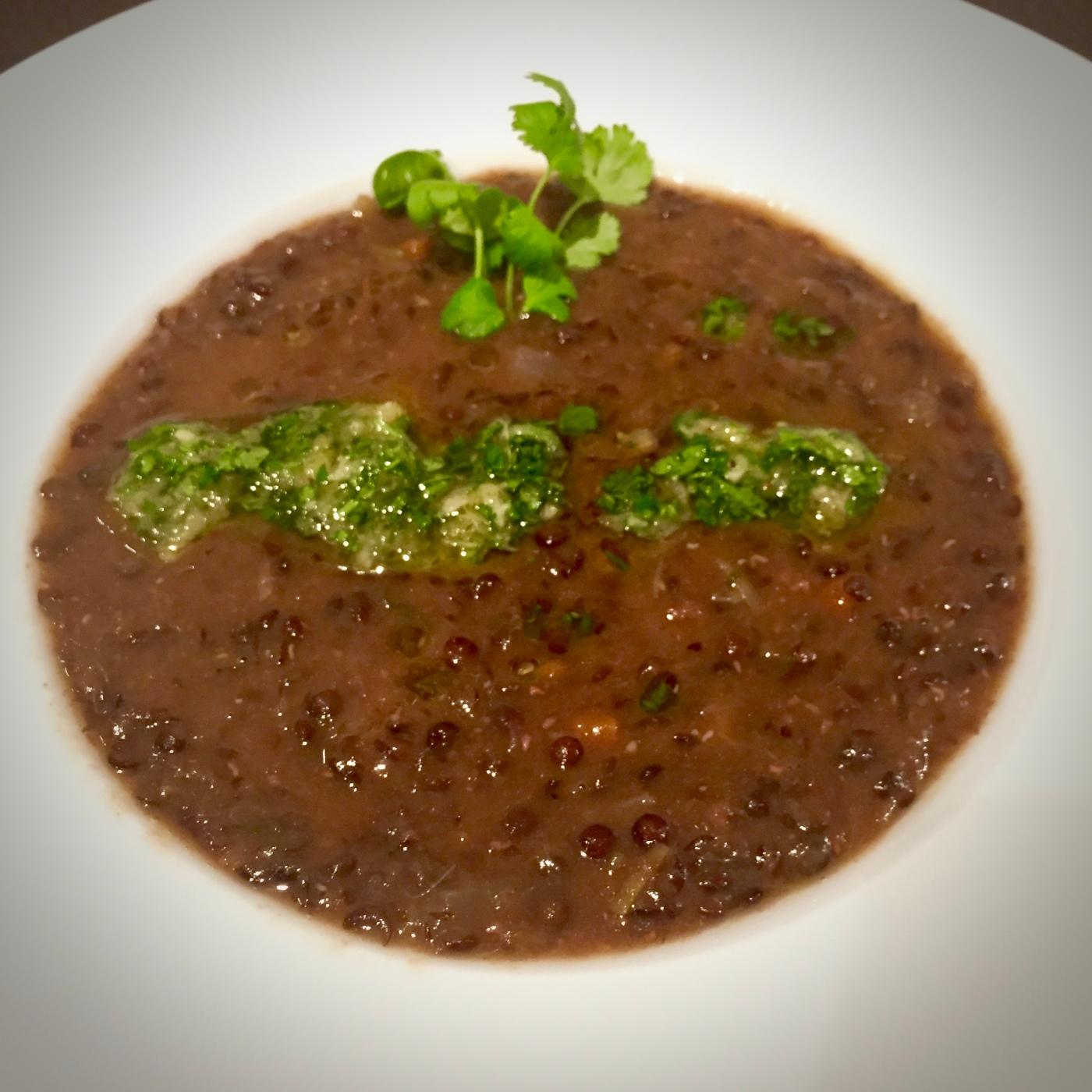 lentil soup with gremolata