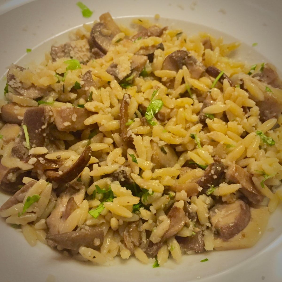 "Mushroom ""Risoniotto"" by Hugh Fearnley-Whittingstall"
