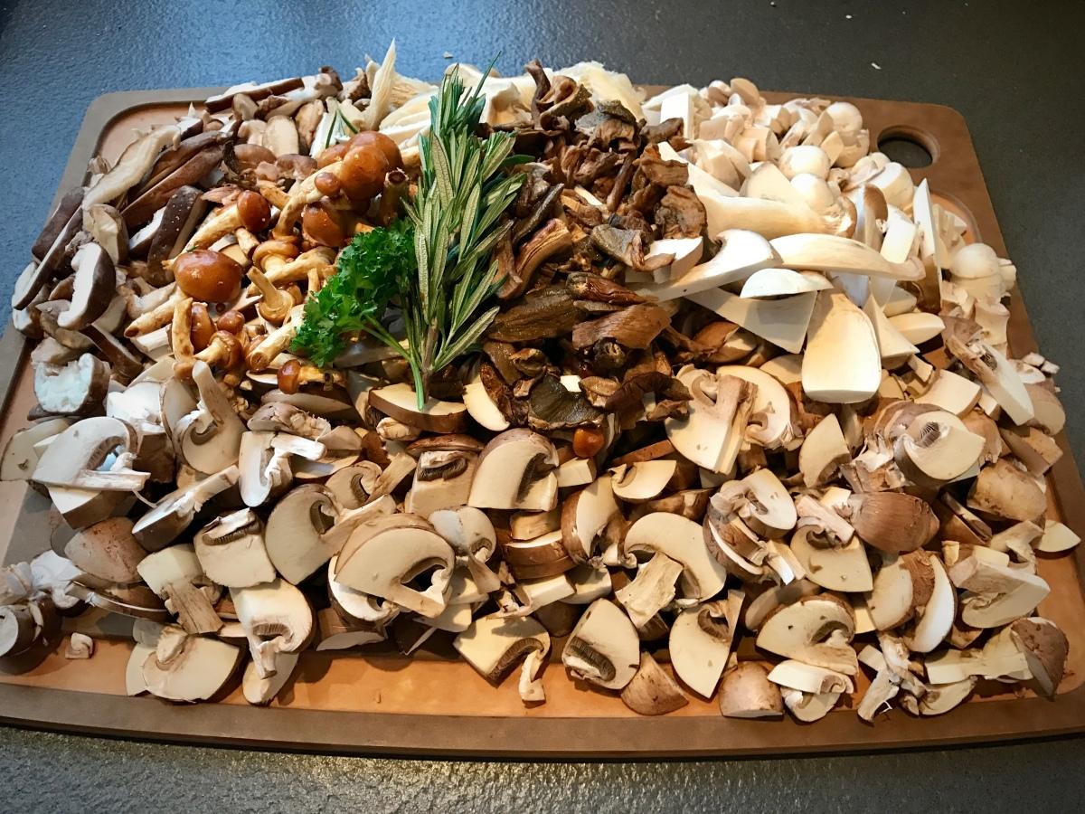 Mushroom Ragù and Creamy Polenta Lasagna