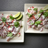 Tuna and Coconut Ceviche
