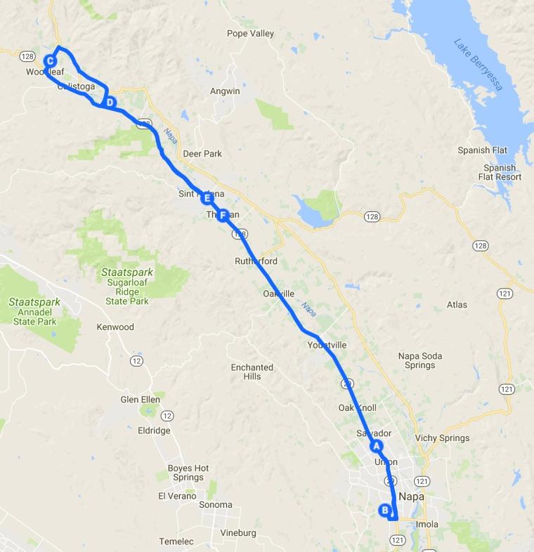 route 10 Napa