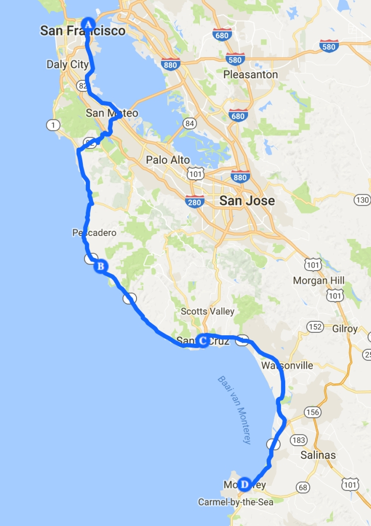 route 8 SF - Monterrey