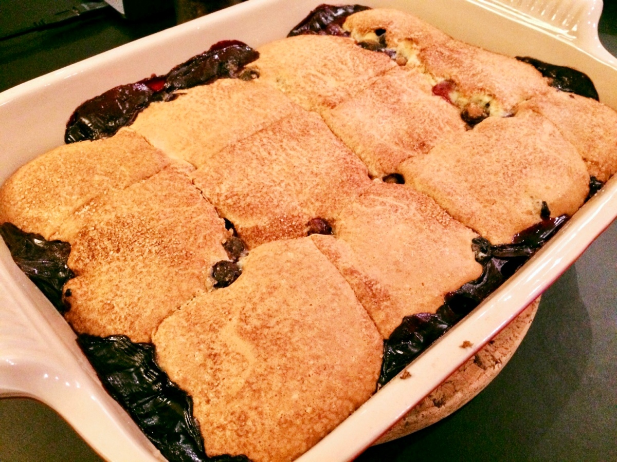 Blueberry Cobbler by Thomas Keller