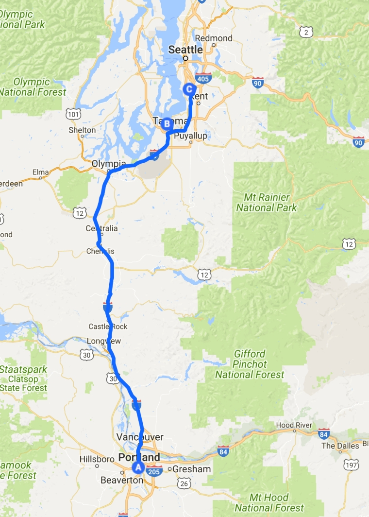 Tacoma To Portland >> Around The World Pacific Northwest Usa Part 23 Portland Or