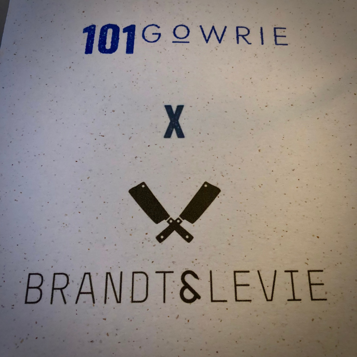 101 Gowrie x Brandt & Levie (September 2018)
