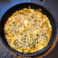 Mustardy Cauliflower Cheese by Yotam Ottolenghi