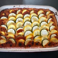 Baked Ratatouille with Goat's Cheese