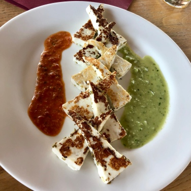 Grilled Cheese with Mojos @El Restaurante Bodegas Rubicón