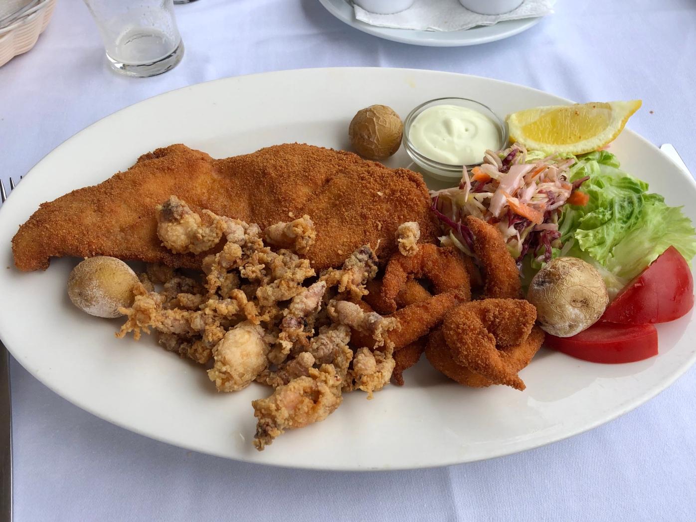 Fritura de Pescado @Casa Rafa Restaurante Del Mar
