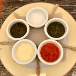 Condiments @Los Aljibes