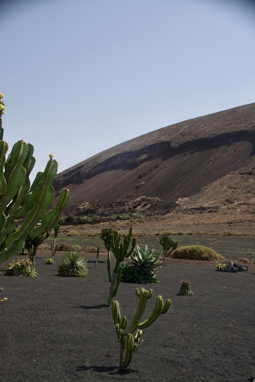 Montaña Tinamala near Guatiza