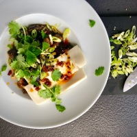 'Caponata' with Silken Tofu by Yotam Ottolenghi