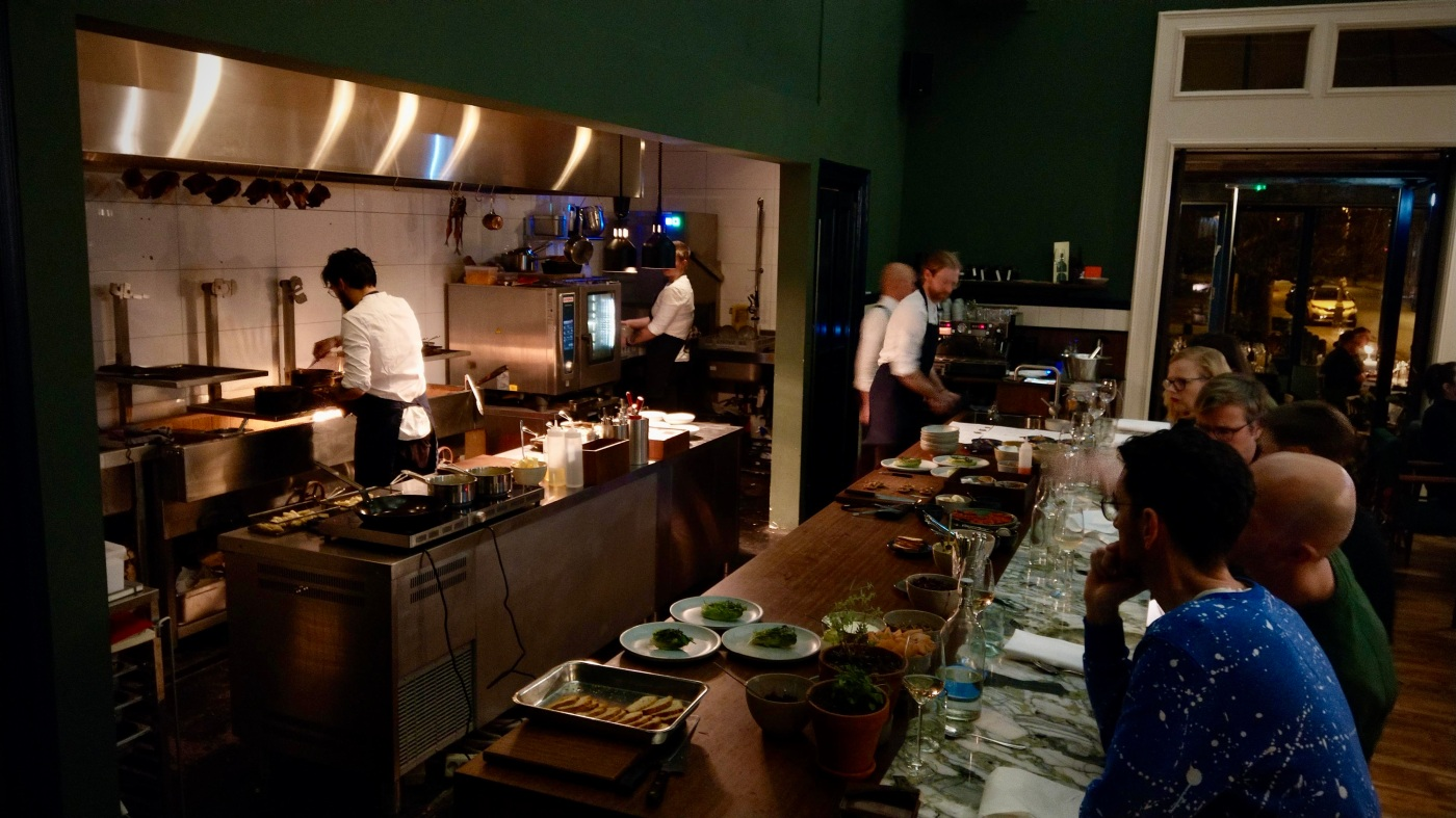 Restaurant Foer - Open Kitchen